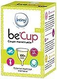 BE CUP - Coupe Menstruelle BeCup Taille 1 - Coupe Menstruelle - Confort et Sécurité