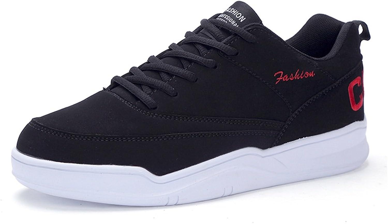 Men's Fashion Sneaker Men's Fashion Sneaker Flat Heel Lace up Sport shoes Breathable