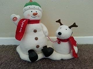 Hallmark Jingle Pals Snowman Dog Singing Dancing by Hallmark