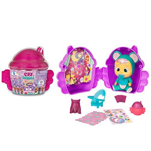 IMC Toys - Cry Babies Magic Tears Bambola in Casetta Alata, Multicolore