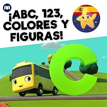 ¡ABC, 123, Colores y Figuras!