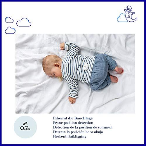 Dräger Dreamguard smarter Baby-Bewegungssensor mit integriertem Babyphone | Baby-Monitor mit App-Nutzung auf dem Smartphone | Für zuhause & unterwegs - 5