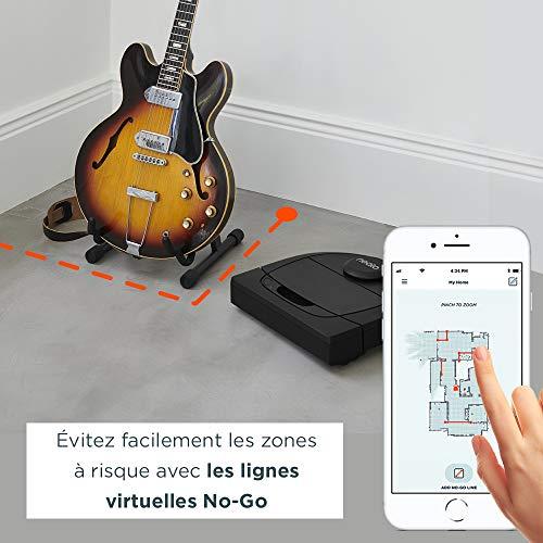 Neato Robotics D450 Edition Animaux Domestiques - Compatible avec Alexa - Robot Aspirateur avec Station de Charge, Wi-Fi & App