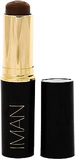 IMAN Cosmetics Second To None Stick Foundation, Dark Skin, Earth 7