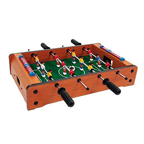 small foot 6707 Tisch-Fußball aus Holz, kann auf jeder Tischplatte platziert werden, ideal zum Mitnehmen