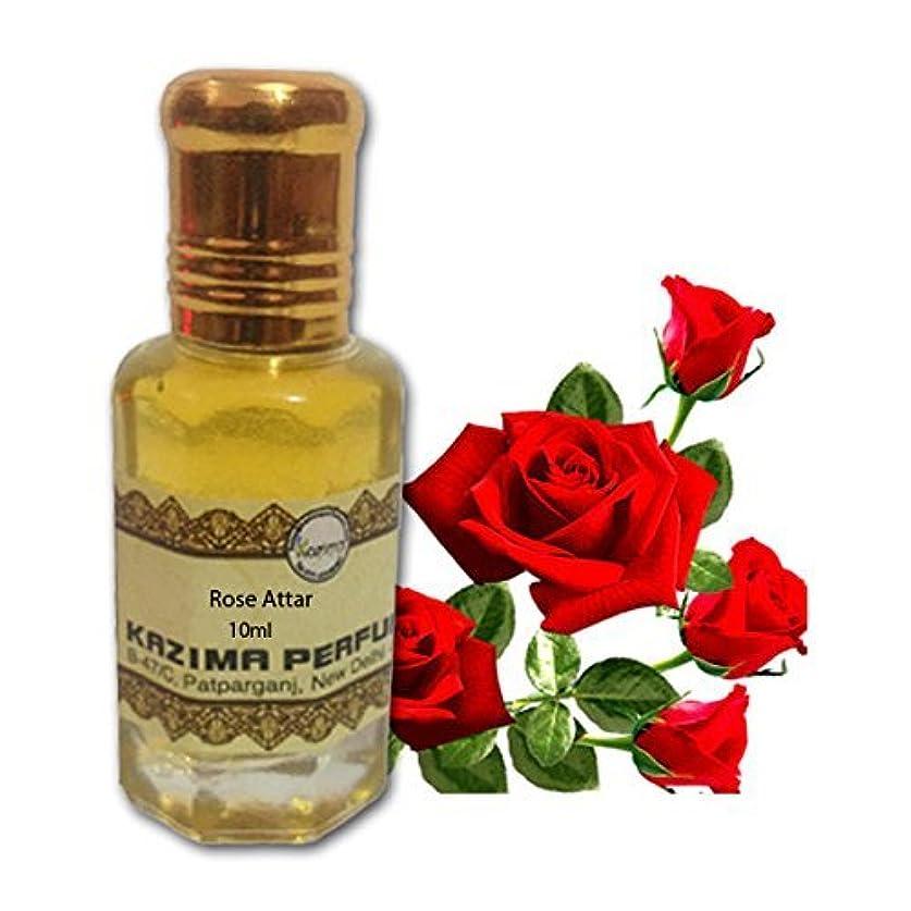 心からミスアラームユニセックスピュアローズアター香水 - ピュアナチュラル希釈していない(ノンアルコール)(10ml)を|アターITRA最高品質の香水アターを持続長いスプレー