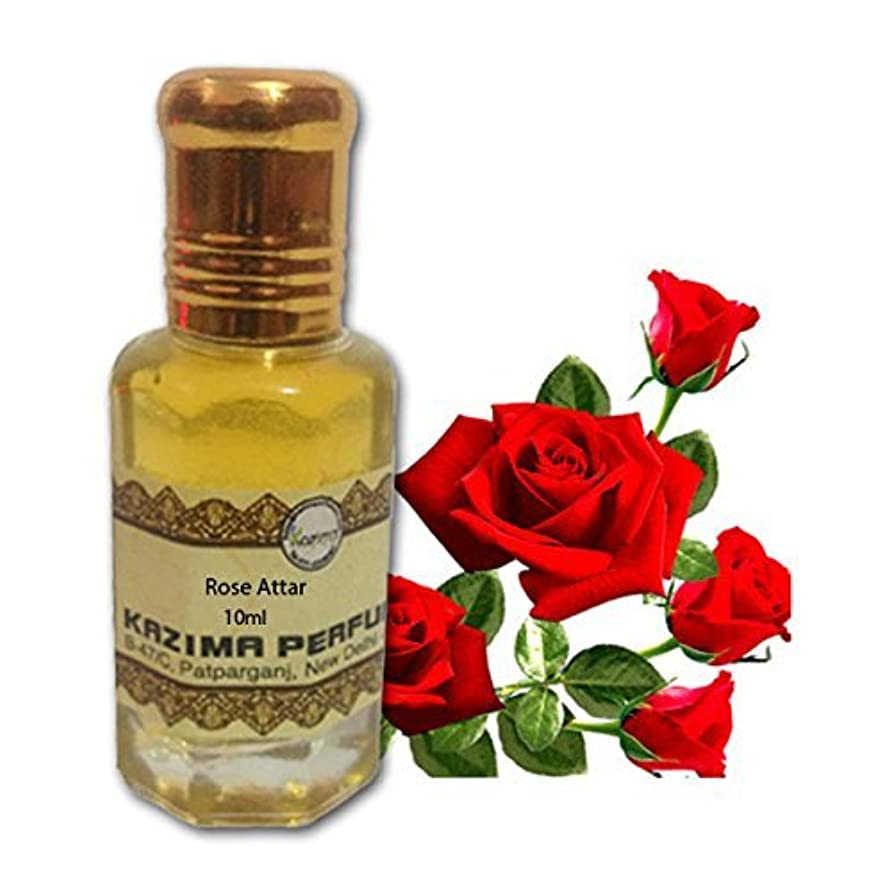 性格セミナー劇的ユニセックスピュアローズアター香水 - ピュアナチュラル希釈していない(ノンアルコール)(10ml)を アターITRA最高品質の香水アターを持続長いスプレー