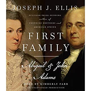 First Family: Abigail & John Adams audiobook cover art