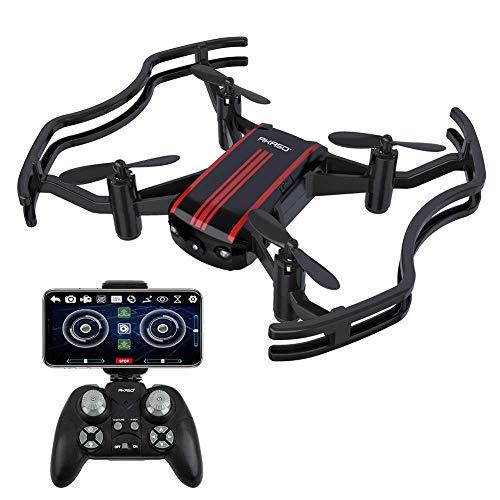 AKASO A21 Drone met camera, mini quadcopter met 720P HD FPV WiFi RC drone, helikopter voor kinderen, beginners en volwassenen, eenknops start/landing, optisch hoogtehouden