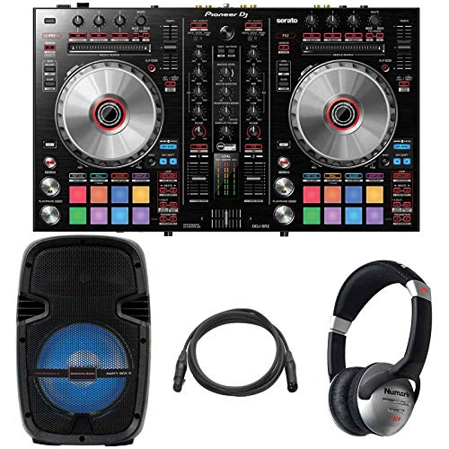 For Sale! Pioneer DDJ-SR2 2-Channel Serato DJ Controller + 8 LED Speaker + Headphones