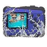 Vmotal GDC5261 Impermeable cámara Digital con Zoom Digital de 8X / 8MP / 2' TFT LCD de la Pantalla/Cámara Impermeable para niños (Azul)
