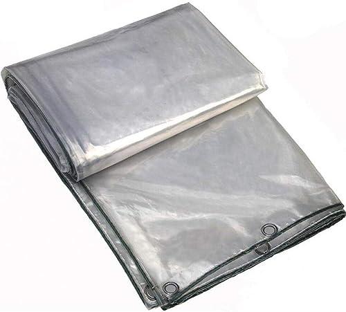 Wangcfsb Verre Clair bache de Sol Feuille de Couverture Heavy Duty Usine de Balcon auvent Tissu en Plastique résistant à la Pluie for Jardin Camping terrasse (Taille   2x6m)