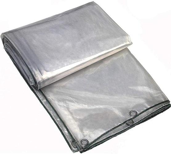 Wangcfsb Verre Clair bache de Sol Feuille de Couverture Heavy Duty Usine de Balcon auvent Tissu en Plastique résistant à la Pluie for Jardin Camping terrasse (Taille   5x7M)