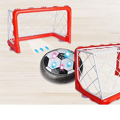Ngel Football Soccer Ball Goal Set Hover Ball with 2 Gates