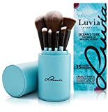 Luvia Cosmetics - Juego de pinceles Ocean`s Tube - 16 piezas