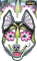 CALI'S HUSKY STICKER - Cali's Husky Orignal Artwork Premium In / Out Door Decal Die-Cut STICKER