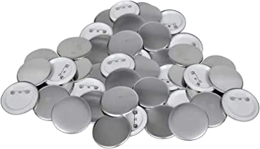500 stks Button Badges 58 mm DIY-lege speldbutton-knoopstukken, voor Badges-knop Maker (Size : 58mm)