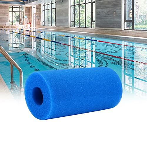 Guillala 1 esponja de filtro de espuma para piscina, reemplazo, esponja de filtración lavable y de alta eficiencia, para limpieza de piscinas