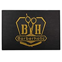 TOOGOO 理髪ツール、滑り止めシリコンマット、サロンワークステーション、耐熱ノンスリップパッド、美容院、柔軟な表示シート