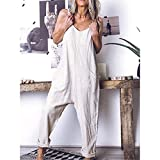 Zoom IMG-1 donna salopette lunga casual pantaloni