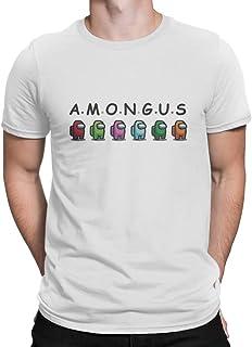 Among Us A.M.O.N.G.U.S Round Neck T Shirt