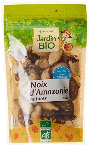 Jardin Bio Noix d'Amazonie Bio 100 g - Lot de 4