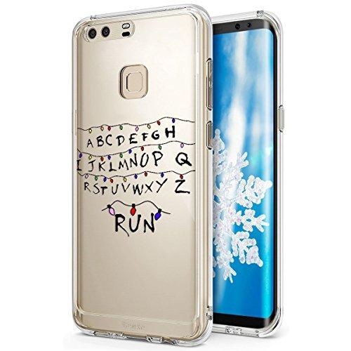 Surakey Funda Compatible para Huawei P9 Plus Funda Silicona [Protección contra Caídas] [Anti-Arañazos] Hybrid...