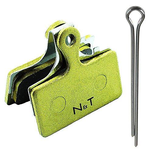 Noah And Theo NT-BP006/SI - Pastillas de freno sinterizadas para Shimano BR...