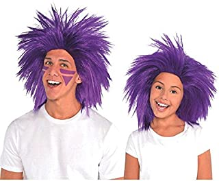 Best crazy purple hair wig Reviews