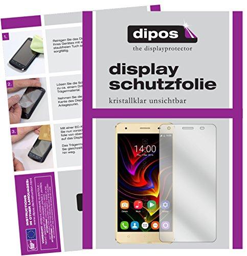 dipos I 6X Schutzfolie klar kompatibel mit Oukitel C5 Pro Folie Bildschirmschutzfolie