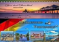 Reise durch Deutschland - Mecklenburg-Vorpommern (Tischkalender 2022 DIN A5 quer): Mecklenburg-Vorpommern, vielseitiges Bundesland und beliebtes Reiseziel im Norden Deutschlands. (Monatskalender, 14 Seiten )
