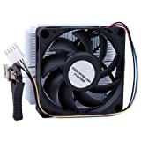 AMD 1A02C3W00 Socket FM1/AM3+/AM3/AM2+/AM2/1207/940/939/754 Aluminum Heat Sink & 2.75' Fan w/4-Pin Connector up to 100W