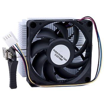 AMD 1A02C3W00 Socket FM1/AM3+/AM3/AM2+/AM2/1207/940/939/754 Aluminum Heat Sink & 2.75  Fan w/4-Pin Connector up to 100W
