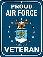 ヴィンテージレトロコレクションブリキアメリカの誇りの空軍のベテランの壁の装飾ポスターホームバーレストランカフェアート金属
