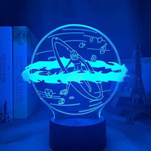 Avatar Die letzte Airbender Aang Lampe für Wohnkultur Geburtstagsgeschenk Led Nachtlicht Avatar Schlafzimmer Dekor Licht Aang