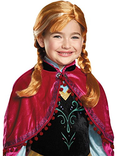 Disguise Disney Frozen Anna's Costume Perruque