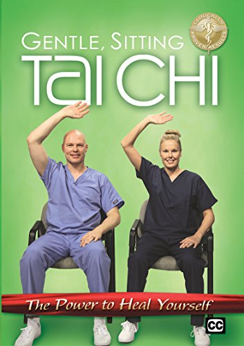 Healing Exercise Sitting Tai Chi DVD - Basic Tai Chi Exercises To Rejuvenate, Energize and De-Stress; for Beginners, Seniors, And Those With Joint Pain, Back Pain and More