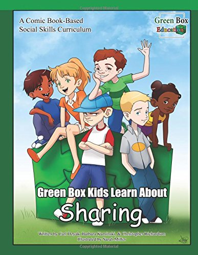 Green Box Kids Learn About Sharing (Green Box Kids Social Skills, Band 1)