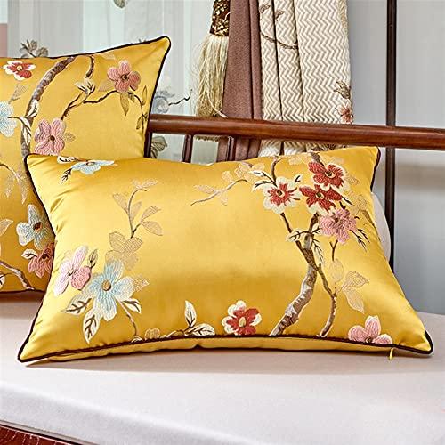 RTSX Cubre Las Mejores Cubiertas de sofá Cubiertas de cojín de sofá de Madera Cajas de Almohadas Decorativas (Color : 2, Size : 300mmx450mm)