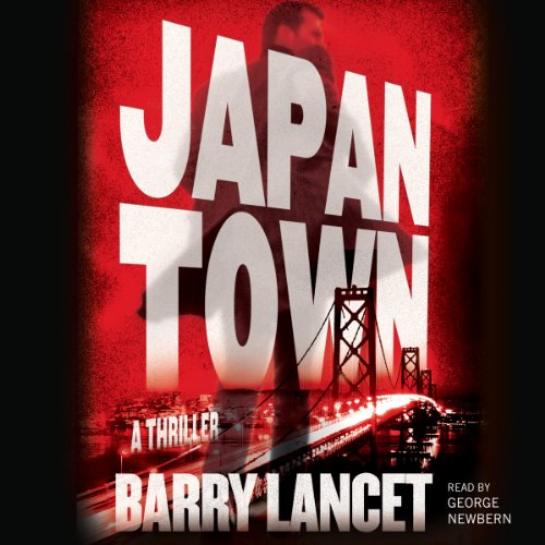 Japantown audiobook cover art