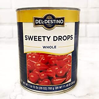 Del Destino Sweety Drop Miniature Peppers - 28 oz Tin (28 ounce)