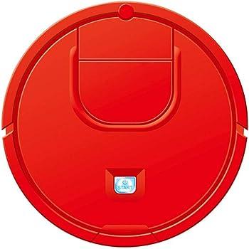 Robot Aspirador - 1800PA Robot Automático de Succión Fuerte Autodetecta Escaleras Alergias al Cabello de Mascotas Amigable Robótica Limpieza del Hogar para Alfombras Piso de Madera (Rojo): Amazon.es: Hogar