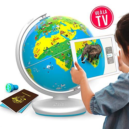 PLUGO Globe Terrestre Interactif- Jeux Educatif en...