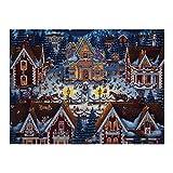 XIAOXINGXING 1000 pcs Puzzle para niños Casa de Jengibre niños decoración del Puzzle decoración Rompecabezas