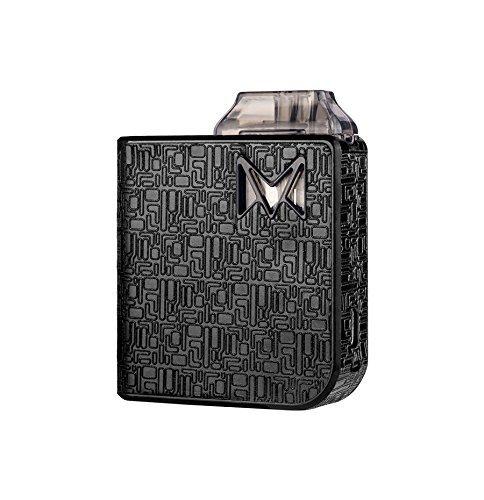 Auténtico MI-POD KIT DE ARRANQUE ULTRA PORTÁTIL - Mi-Pod Cigarrillo Electrónico Para Principiantes - 2 ml Capacidad E-Liquid Libre de Nicotina Sin Tabaco - Con Bolsa Unishow Gratis (Negro Digital)
