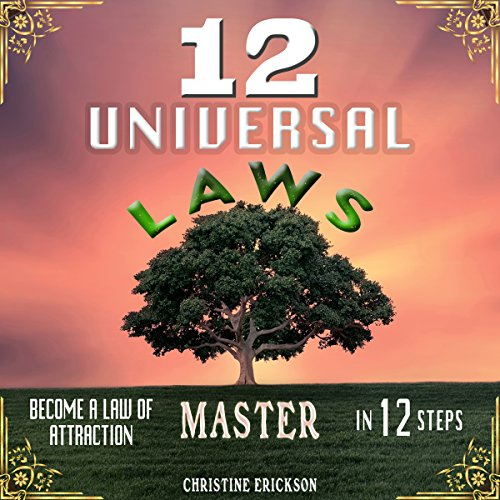 12 Universal Laws audiobook cover art