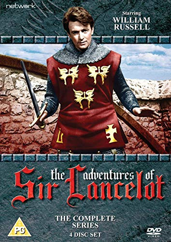 Adventures of Sir Lancelot: The Complete Series (4 DVD) [Edizione: Regno Unito] [Import]