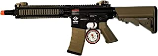 G&G CM18 MOD1 Combat Machine AEG Metal Gears Airsoft Gun - Black