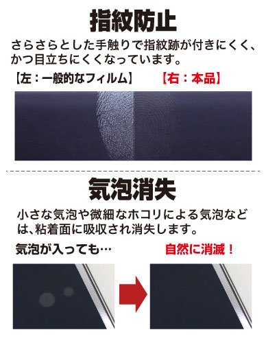 『アスデック ASUS ZenPad 7.0 ( Z370C / Z370KL )用 タブレット 保護フィルム [ ノングレア フィルム 3]・映り込み防止・防指紋 ・気泡消失・アンチグレア 日本製 NGB-Z370』の1枚目の画像