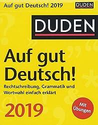 Duden Auf gut Deutsch 2019